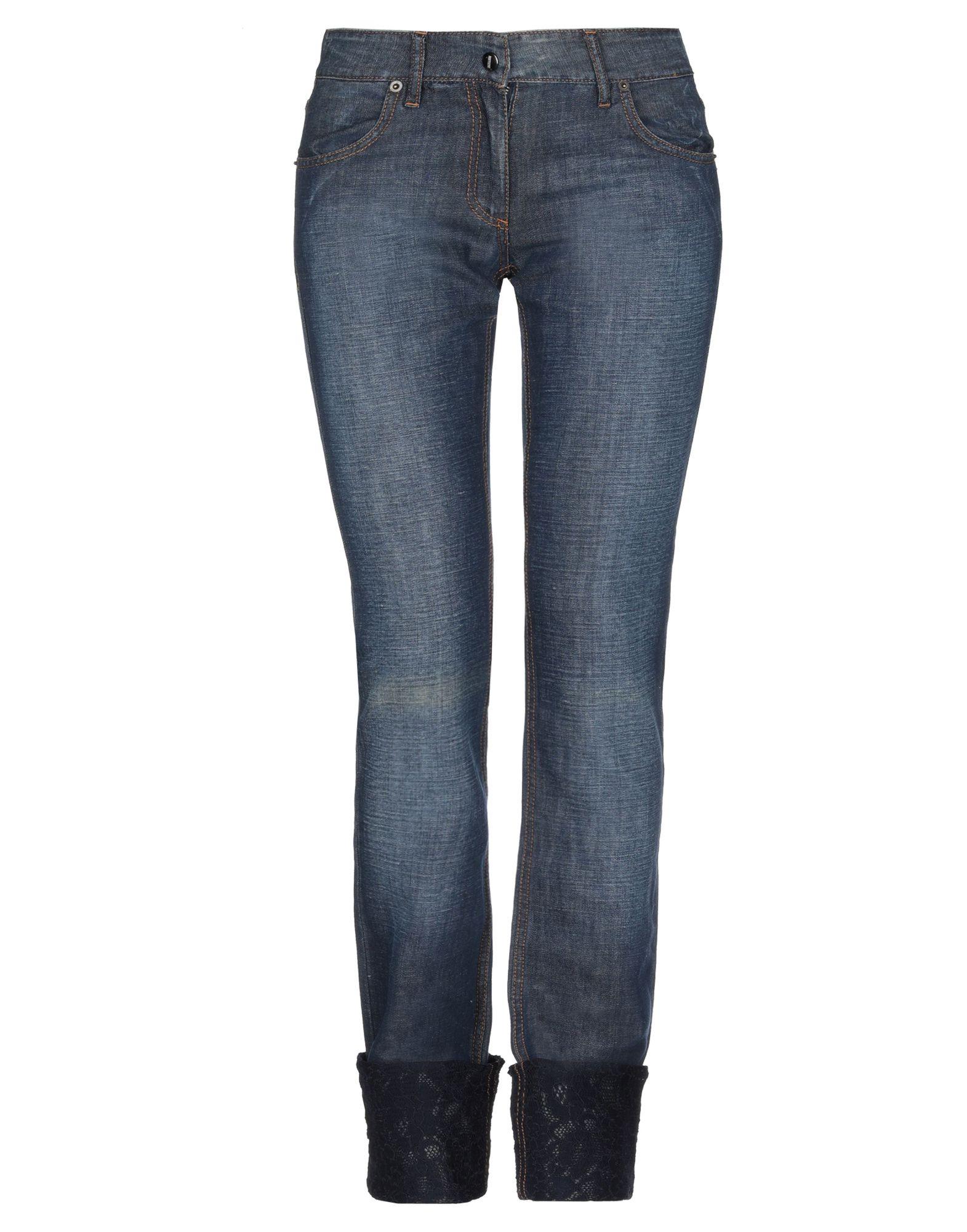 лучшая цена NOTIZIE di MARIELLA BURANI Джинсовые брюки