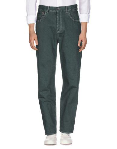 Фото 2 - Джинсовые брюки от HAIKURE темно-зеленого цвета