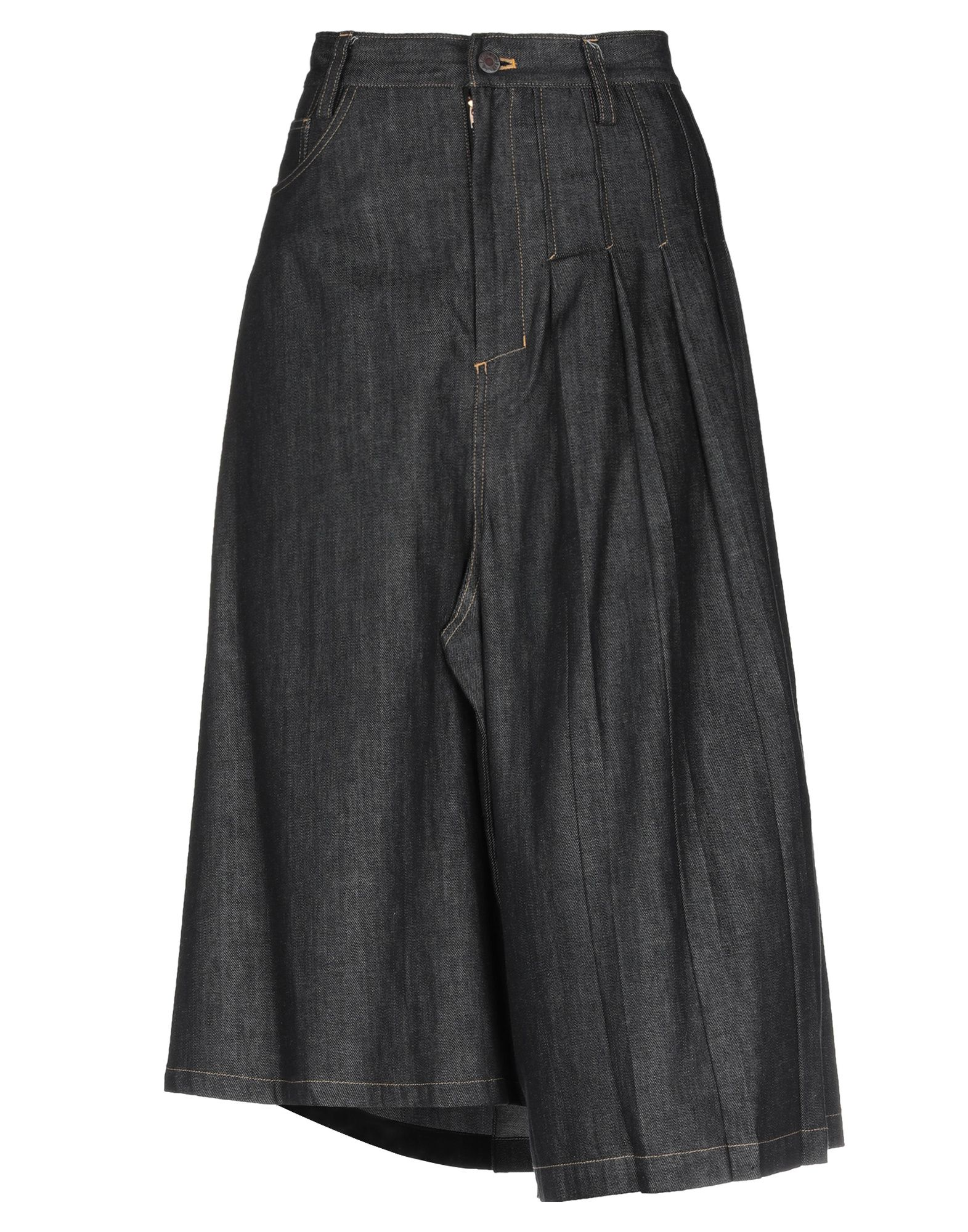 Y'S YOHJI YAMAMOTO Джинсовая юбка yohji yamamoto юбка до колена