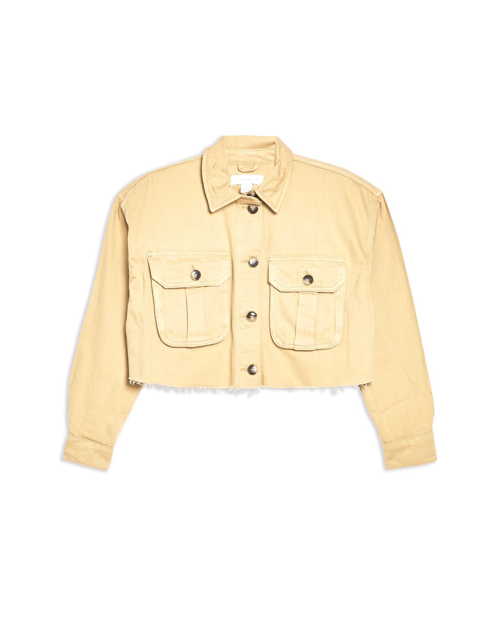 TOPSHOP Джинсовая верхняя одежда цена 2017