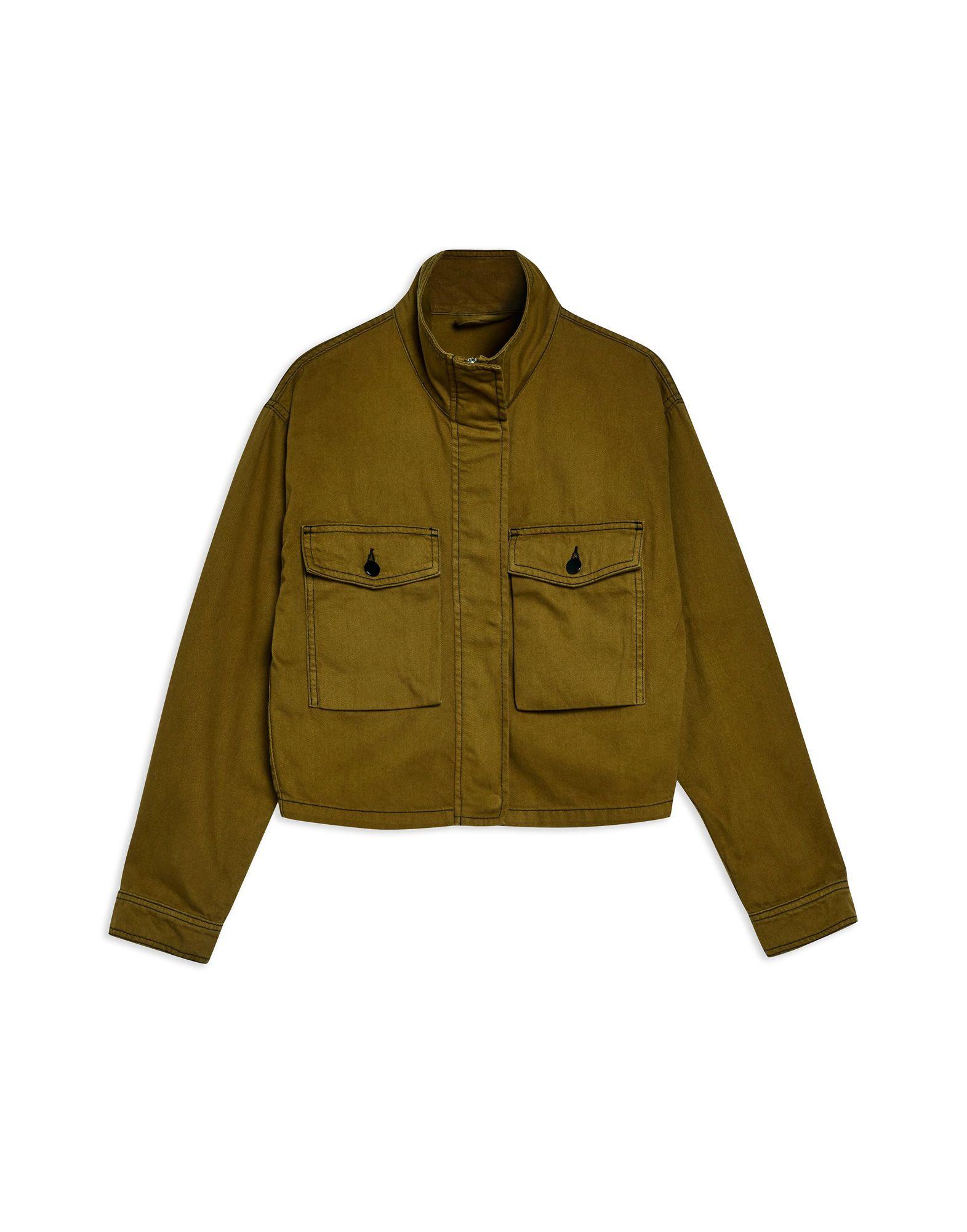 цена TOPSHOP Джинсовая верхняя одежда онлайн в 2017 году