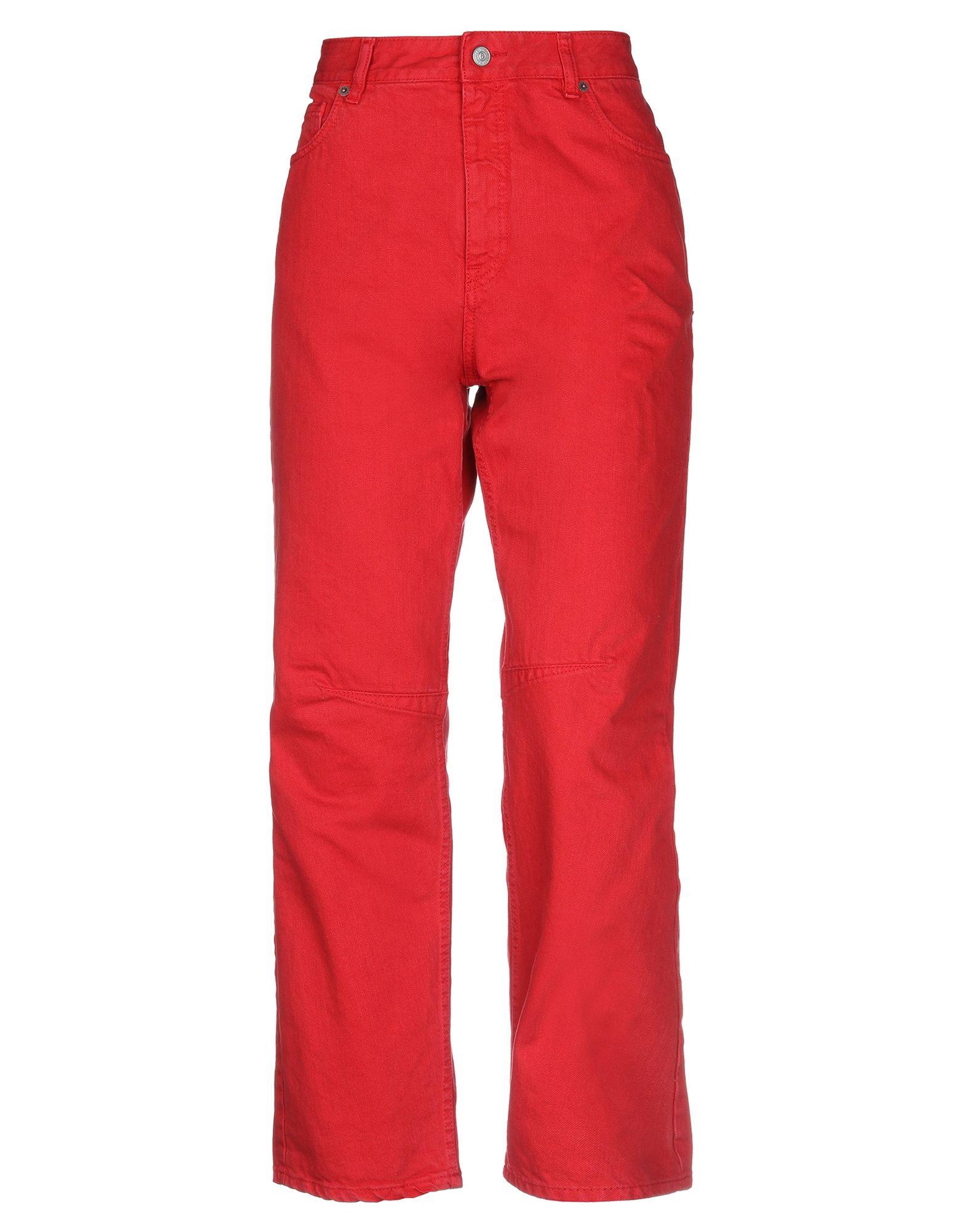 MM6 MAISON MARGIELA Джинсовые брюки цена 2017