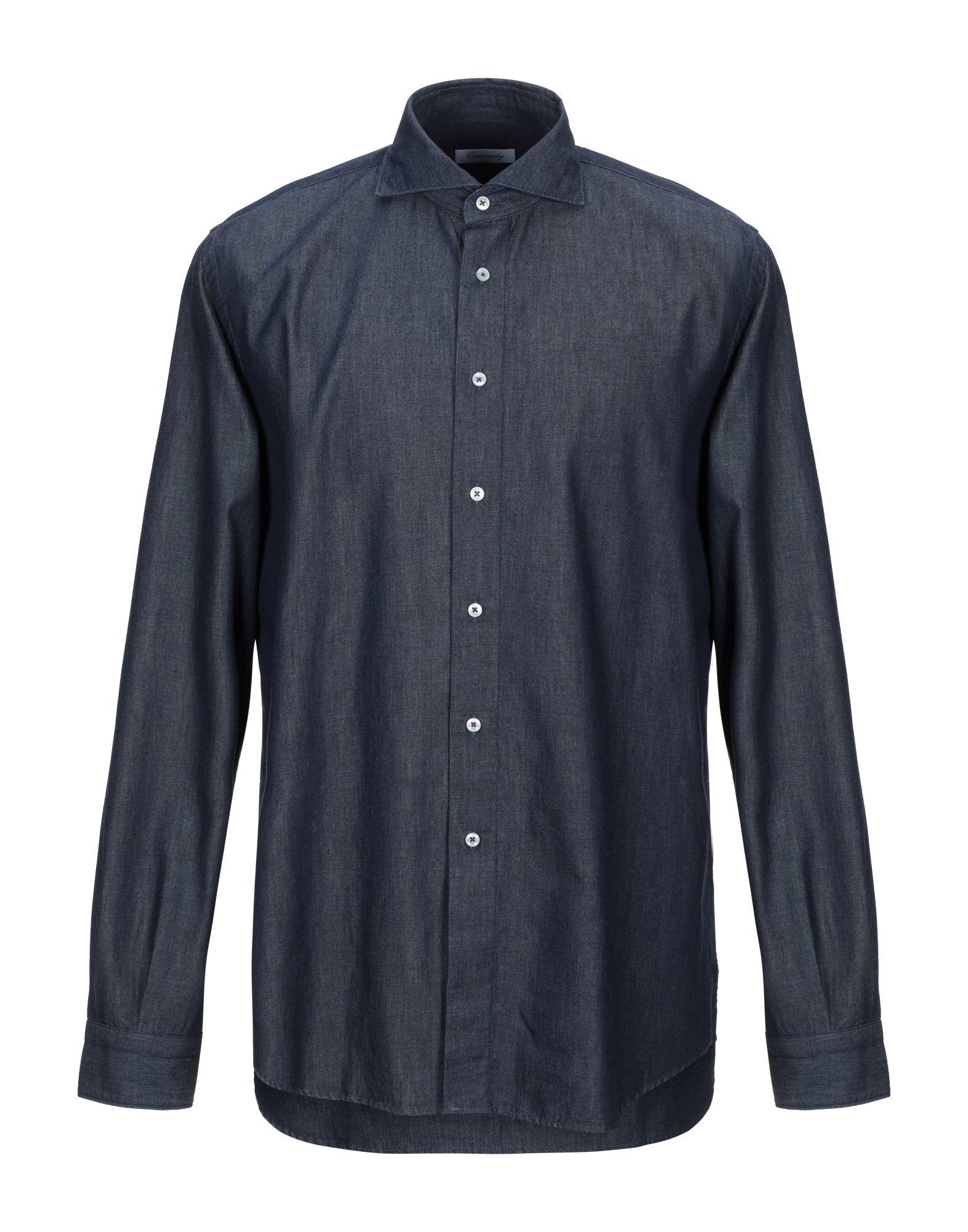 лучшая цена QUEENSWAY Джинсовая рубашка