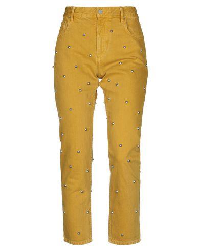 Купить Джинсовые брюки от ISABEL MARANT ÉTOILE цвет охра