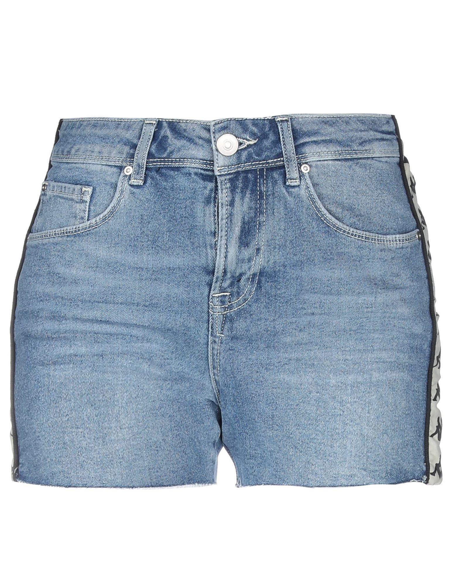 KAPPA Джинсовые шорты шорты для девочки kappa цвет темно серый 3032ne0 4a размер 140
