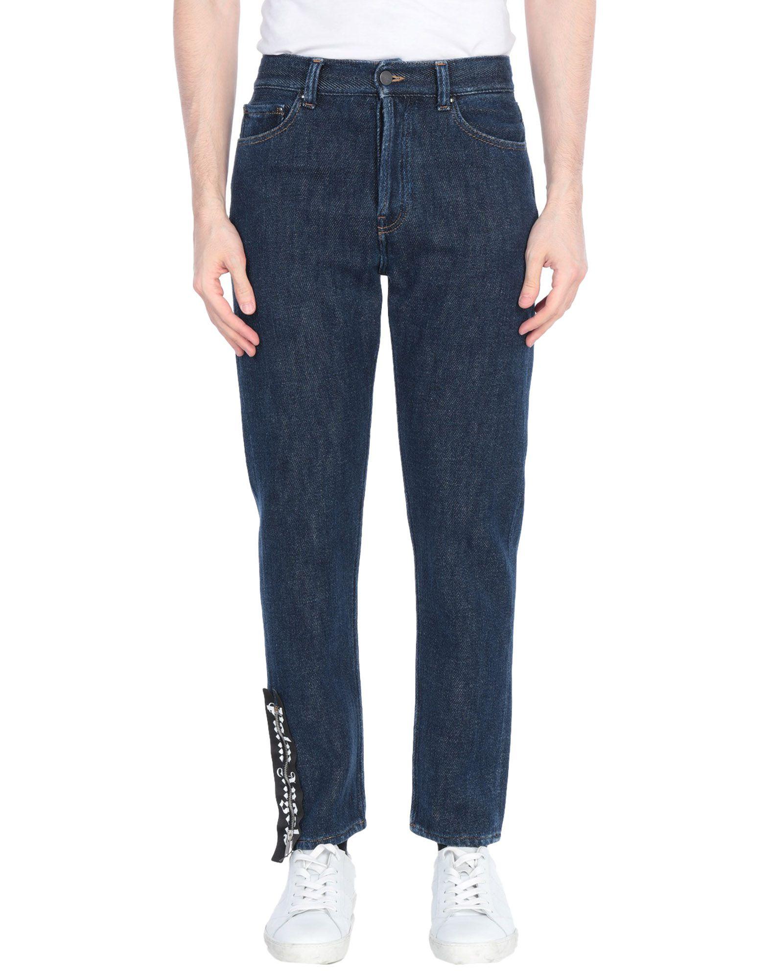 PALM ANGELS Джинсовые брюки цена