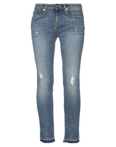 Фото - Джинсовые брюки от R13 синего цвета