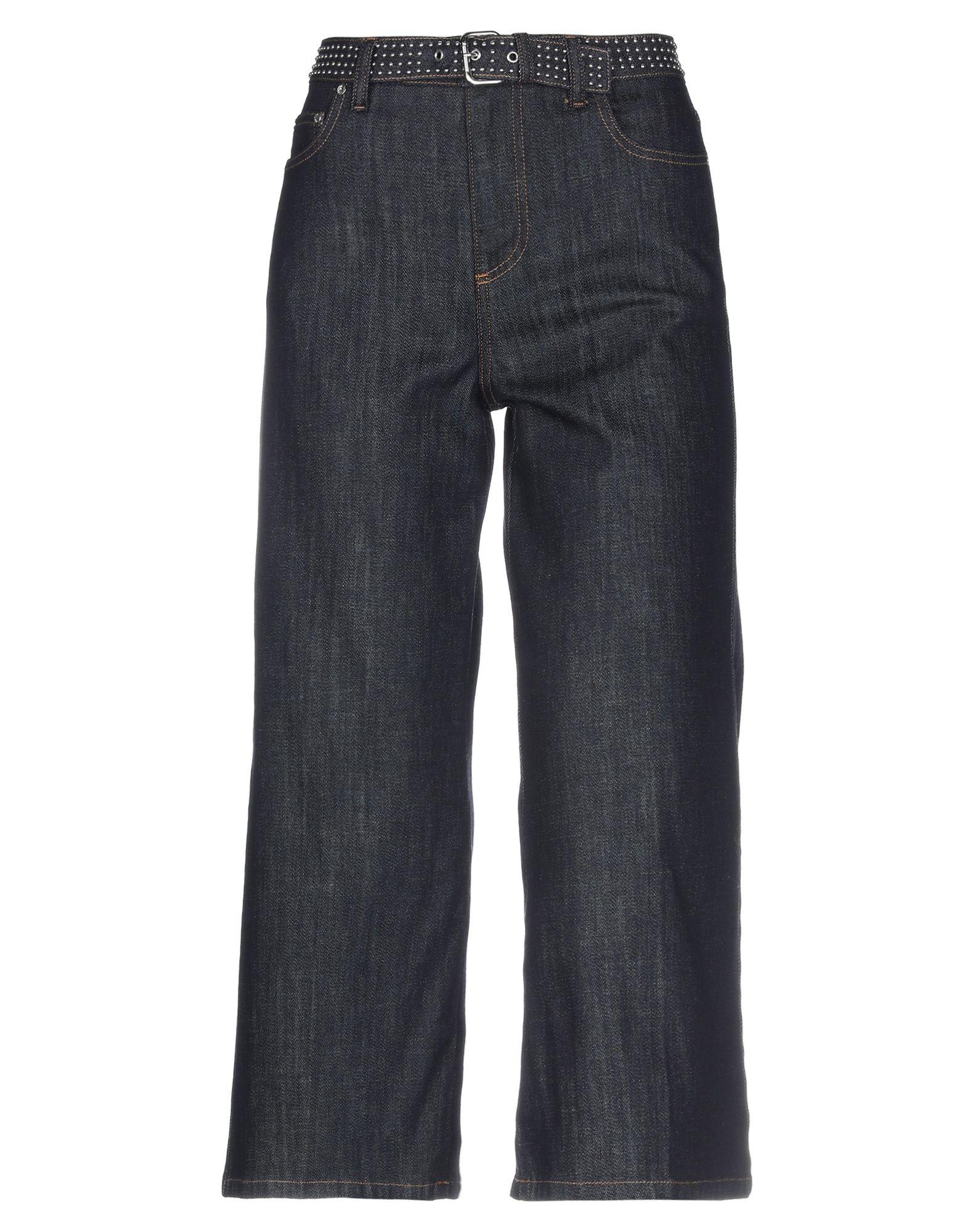 REDValentino Джинсовые брюки-капри redvalentino джинсовые брюки капри