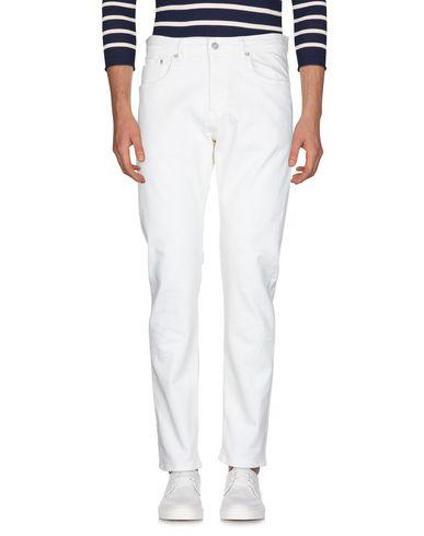 Фото 2 - Джинсовые брюки от EDWIN цвет слоновая кость