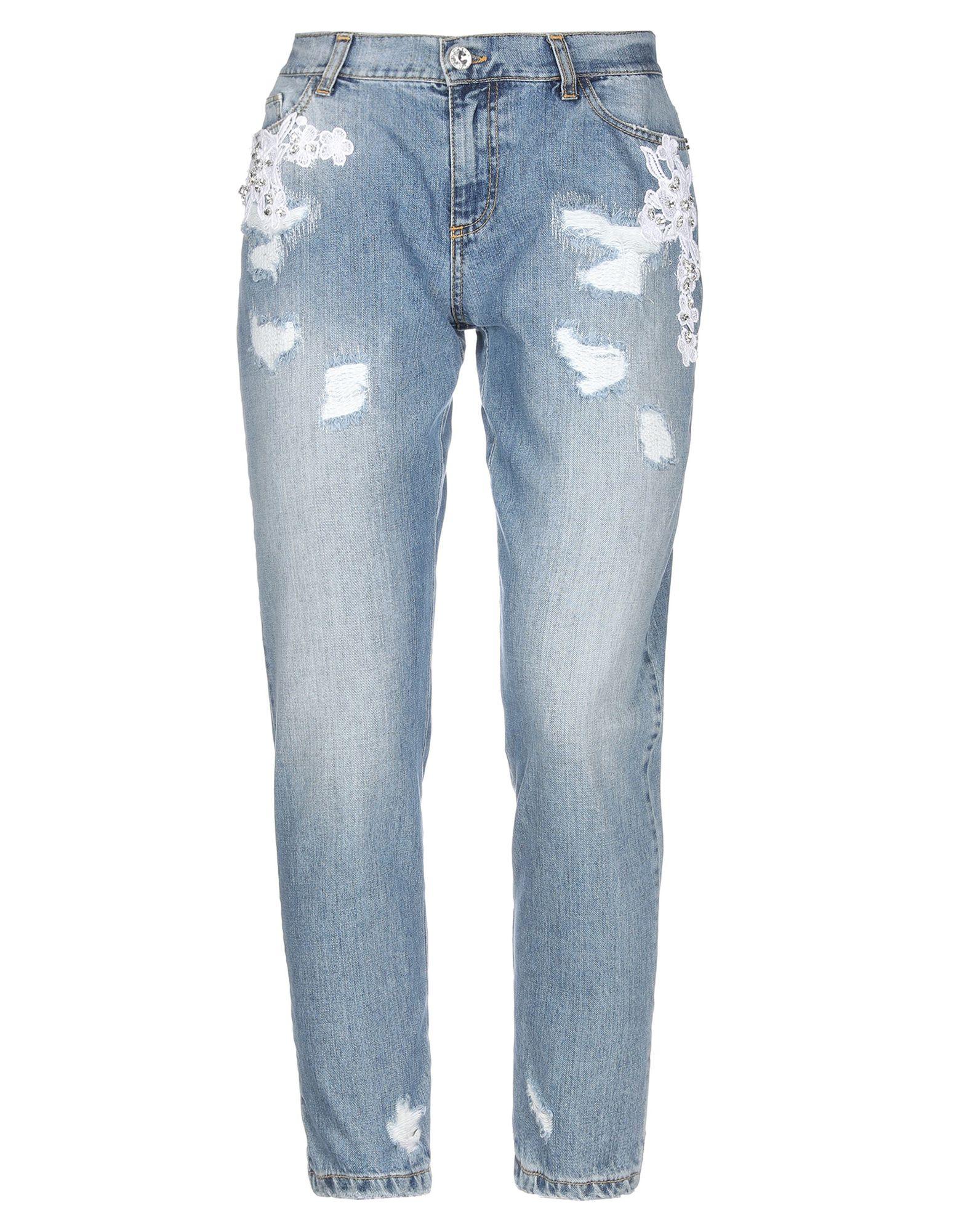 PETITE COUTURE by CHIARA CUCCONI Джинсовые брюки недорго, оригинальная цена