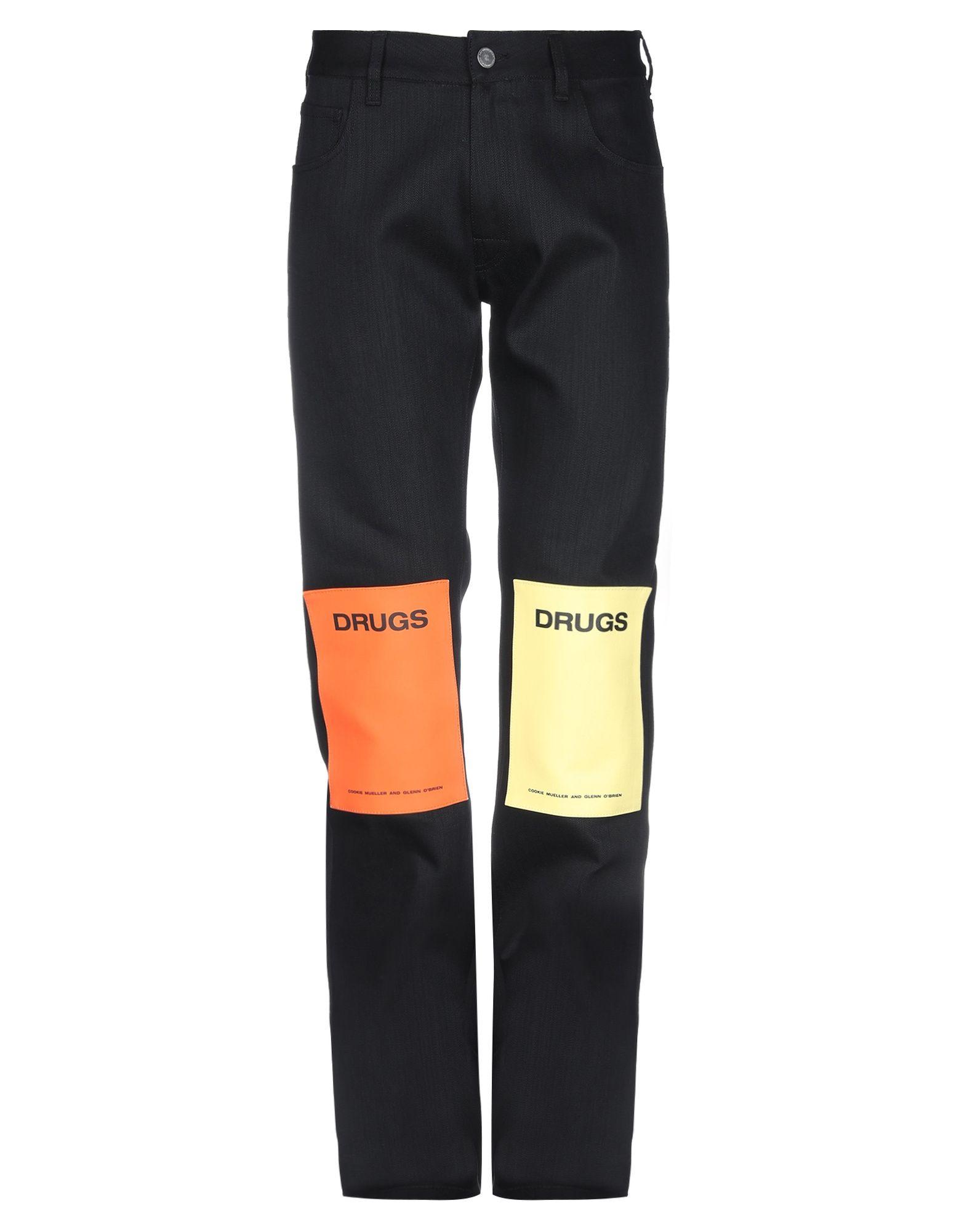 RAF SIMONS Джинсовые брюки цена и фото