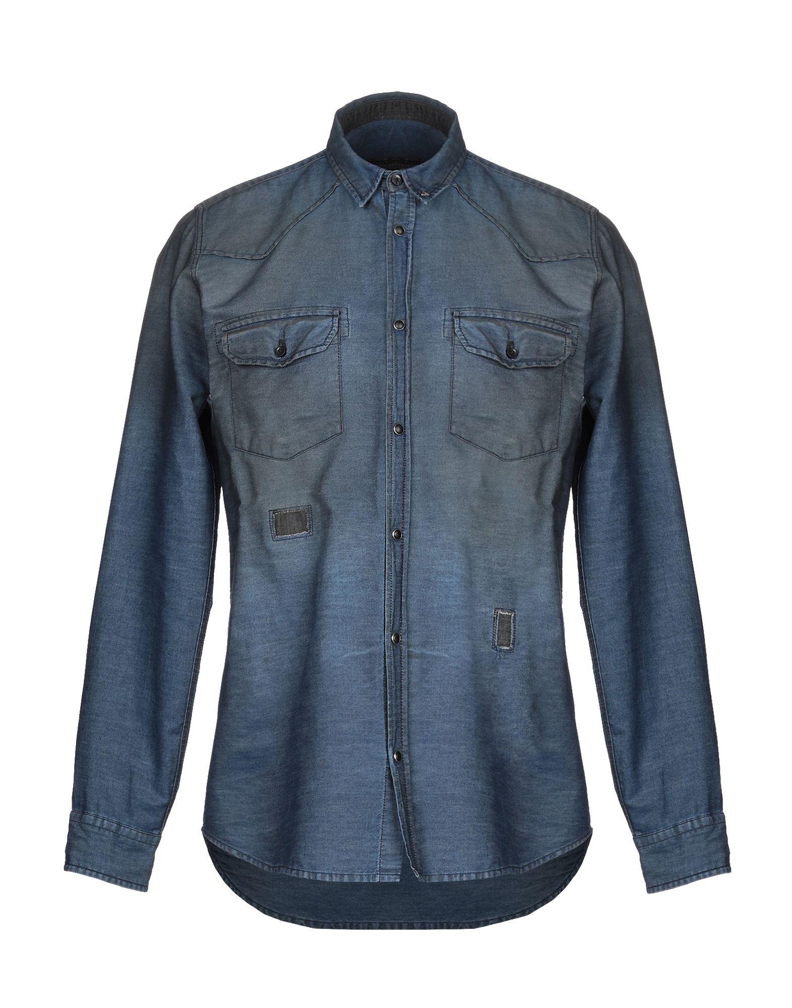 BERNA Джинсовая рубашка цена