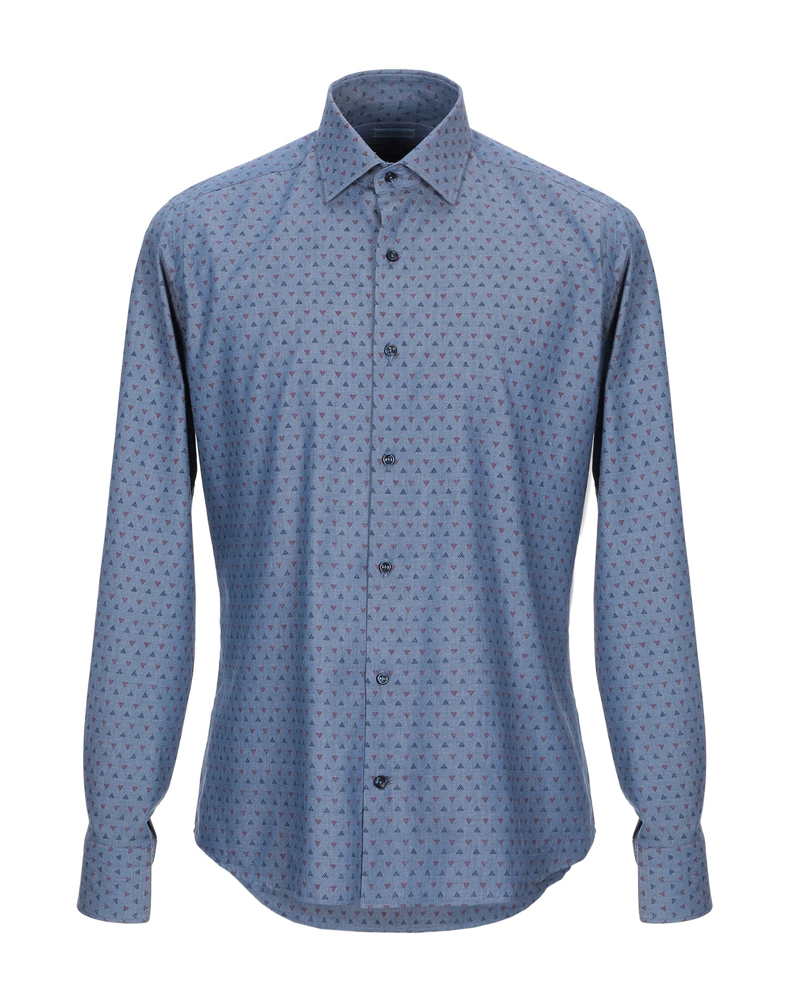 HENRY COTTON'S Джинсовая рубашка цена