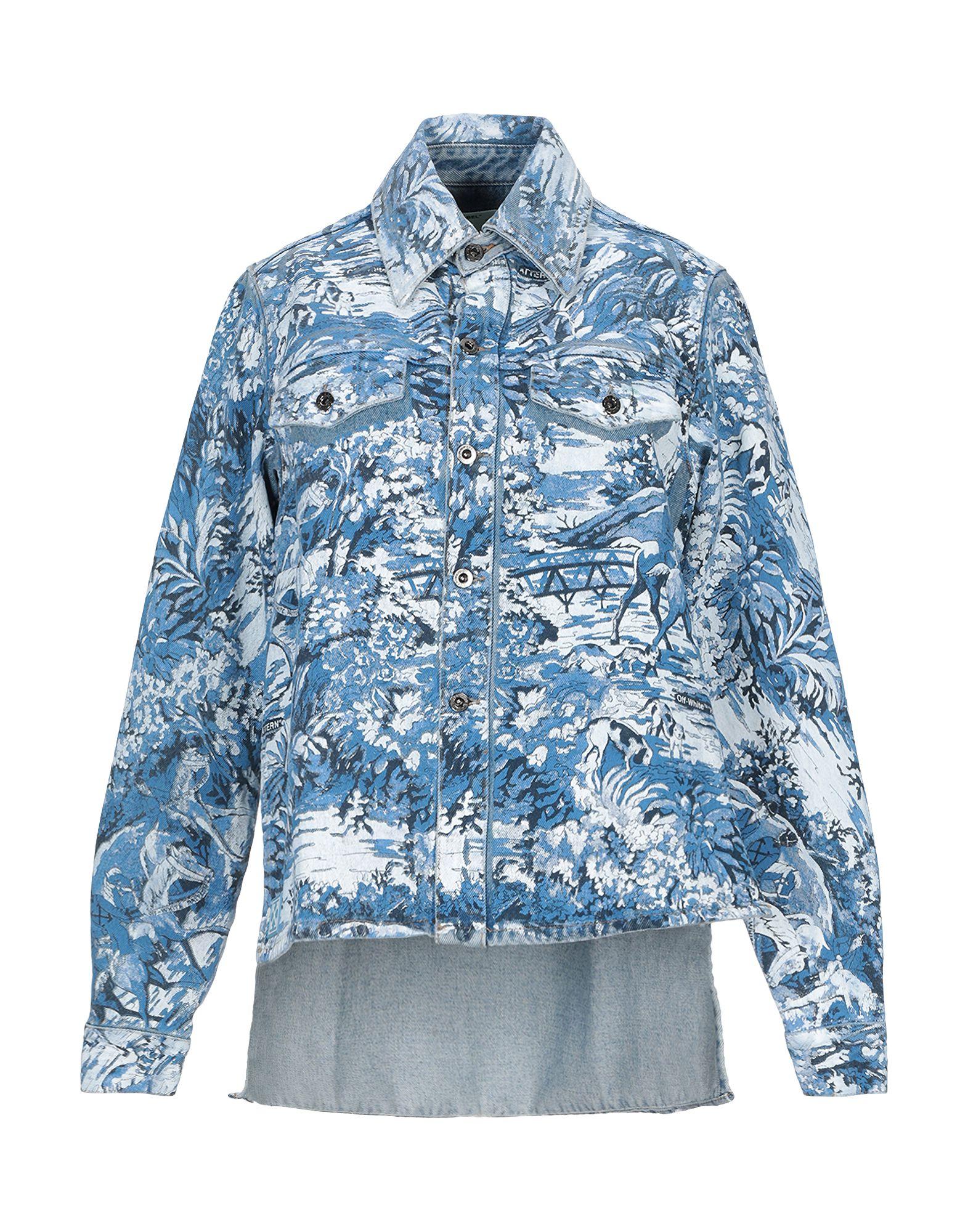 OFF-WHITE™ Джинсовая верхняя одежда