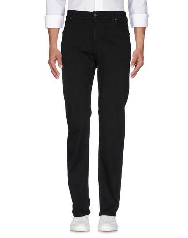 Фото 2 - Джинсовые брюки черного цвета