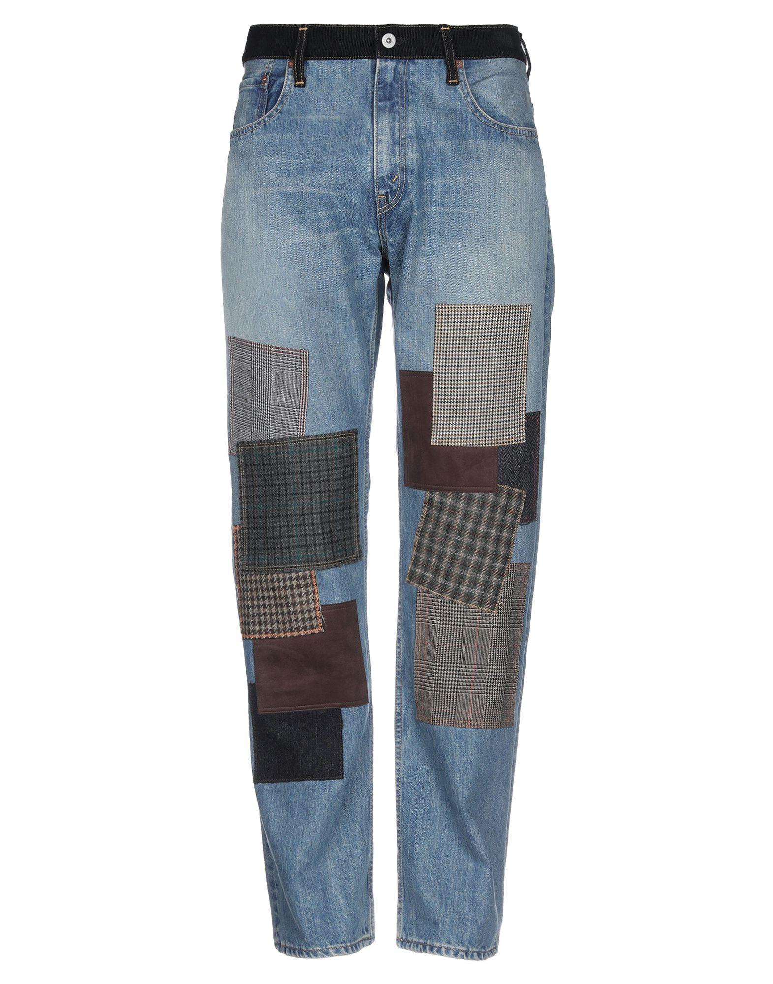 JUNYA WATANABE COMME des GARÇONS MAN X LEVI'S Джинсовые брюки junya watanabe бермуды