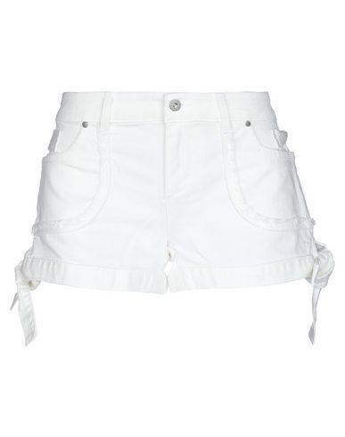 Купить Джинсовые шорты от ANIMAGEMELLA белого цвета