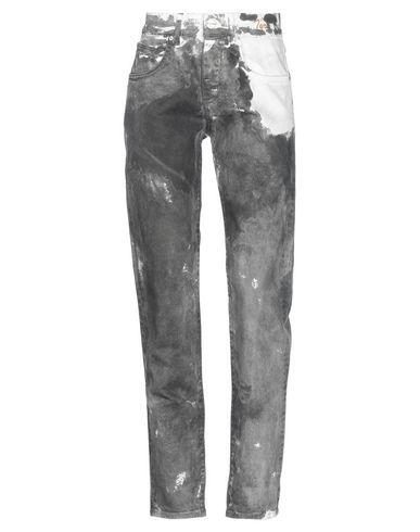 Фото - Джинсовые брюки от P_JEAN серого цвета