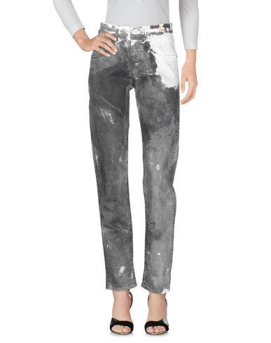 Фото 2 - Джинсовые брюки от P_JEAN серого цвета