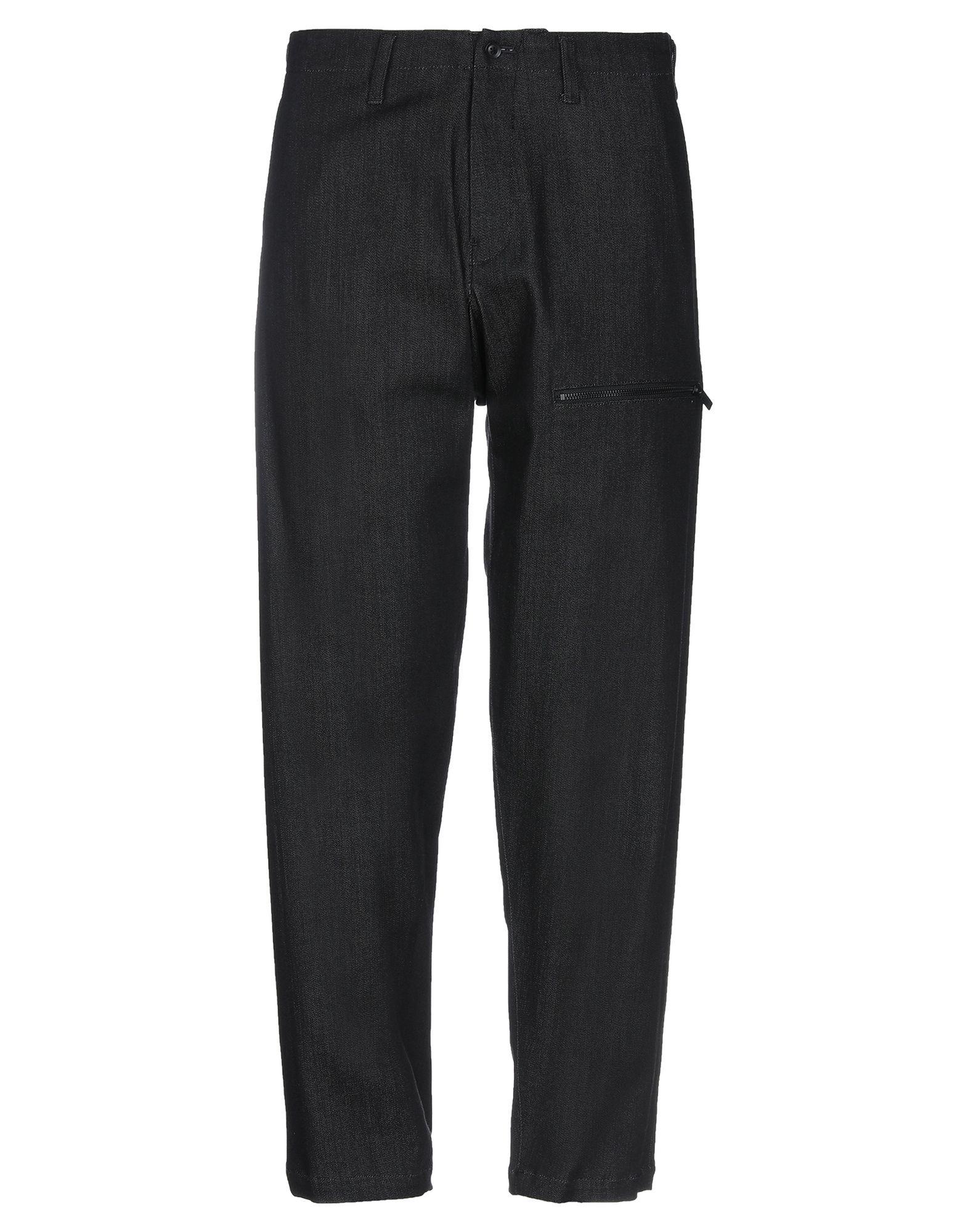 YOHJI YAMAMOTO Джинсовые брюки