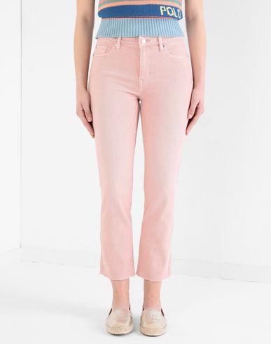 Фото 2 - Джинсовые брюки от LAUREN RALPH LAUREN розового цвета