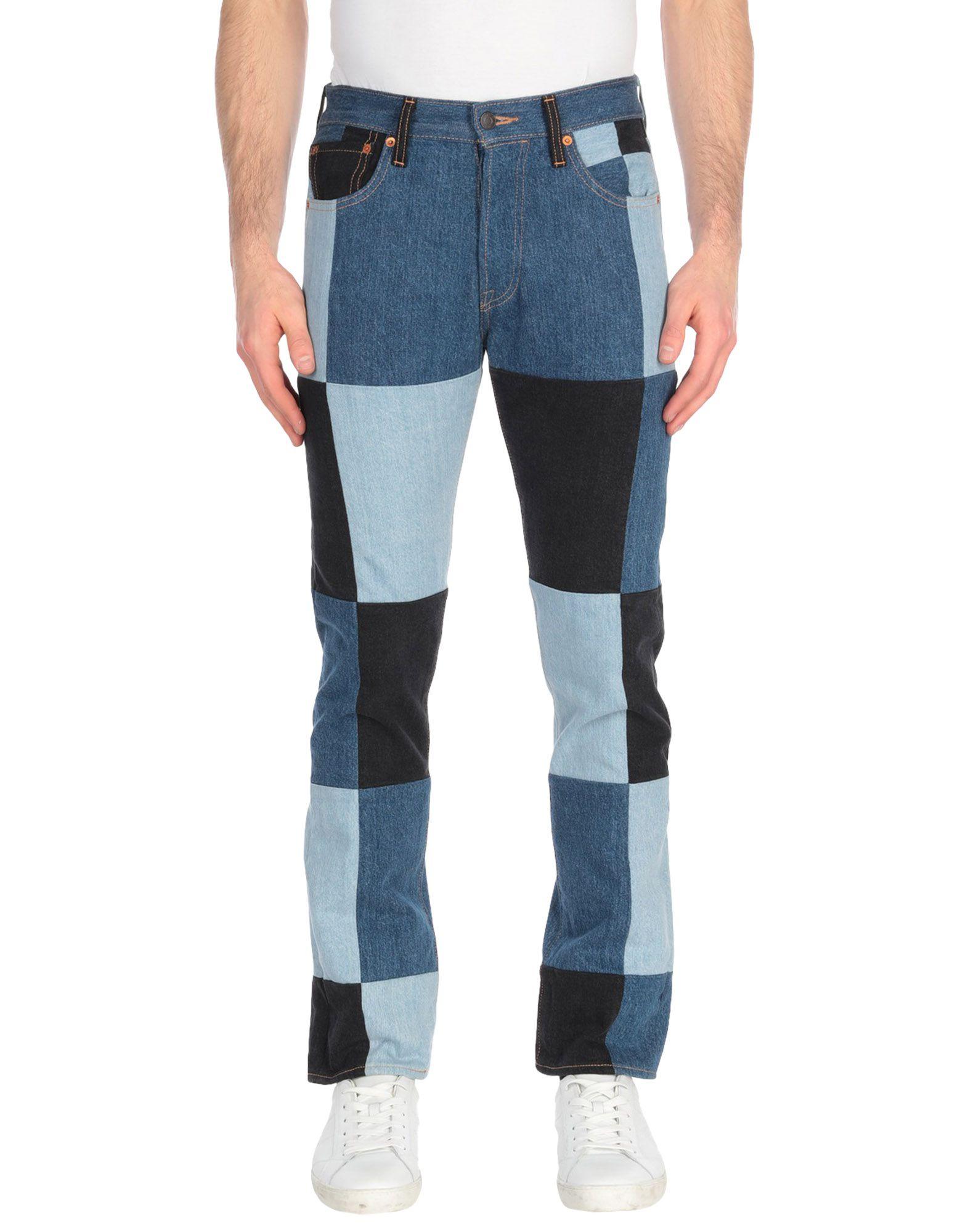 GOSHA RUBCHINSKIY with LEVI'S Джинсовые брюки