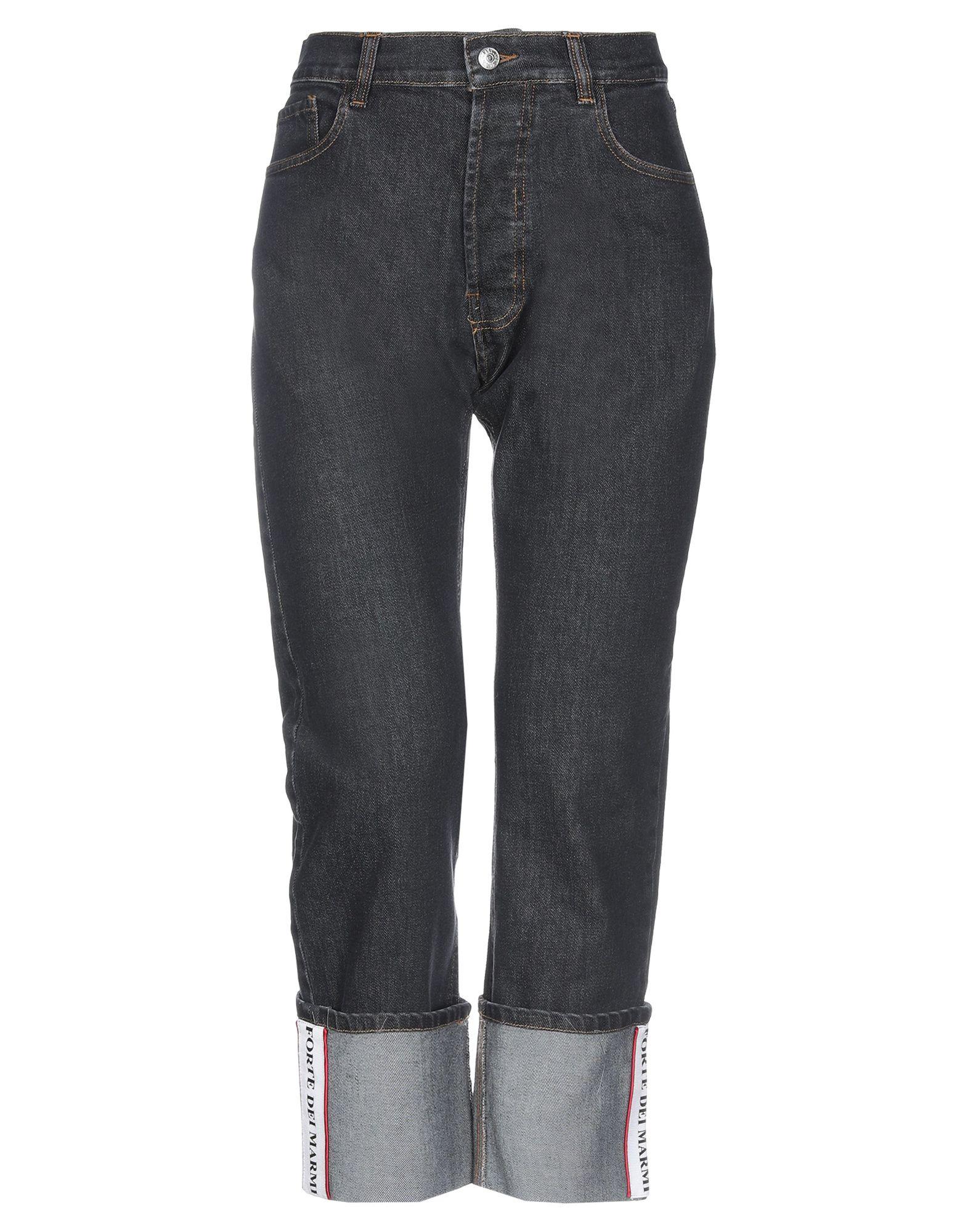FORTE DEI MARMI COUTURE Джинсовые брюки недорго, оригинальная цена