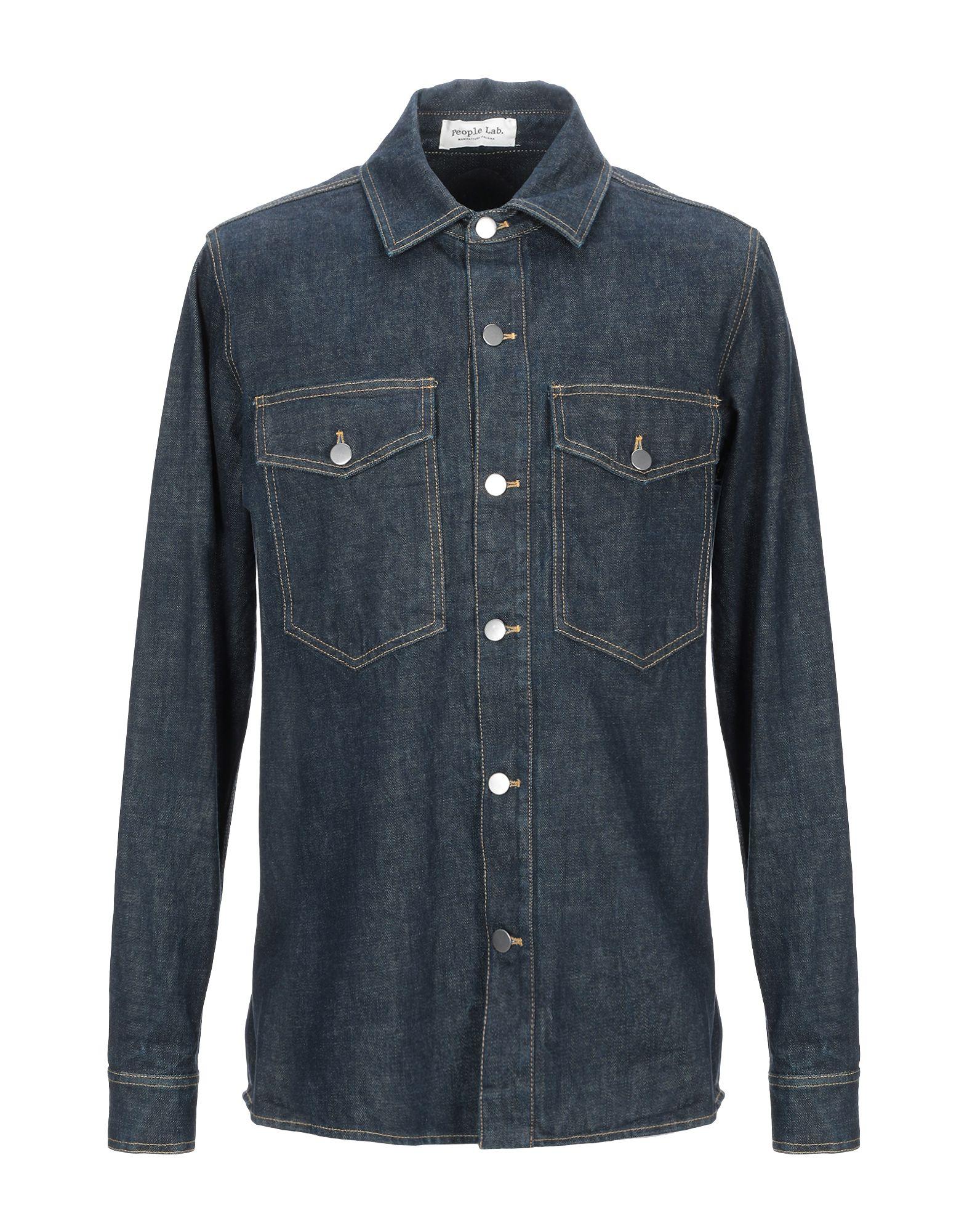 PEOPLE LAB. Джинсовая рубашка people джинсовая рубашка