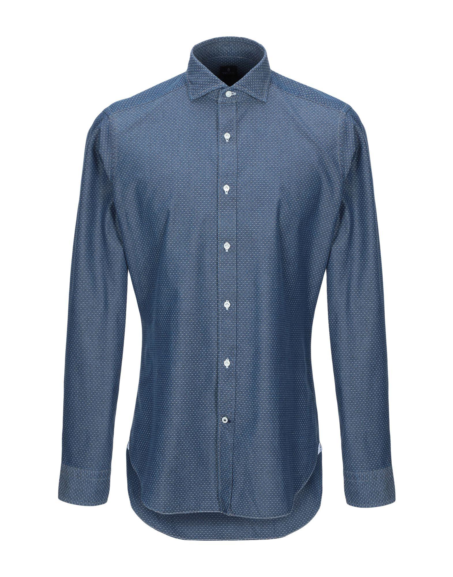 5a60b178b28de8c TRUZZI Джинсовая рубашка