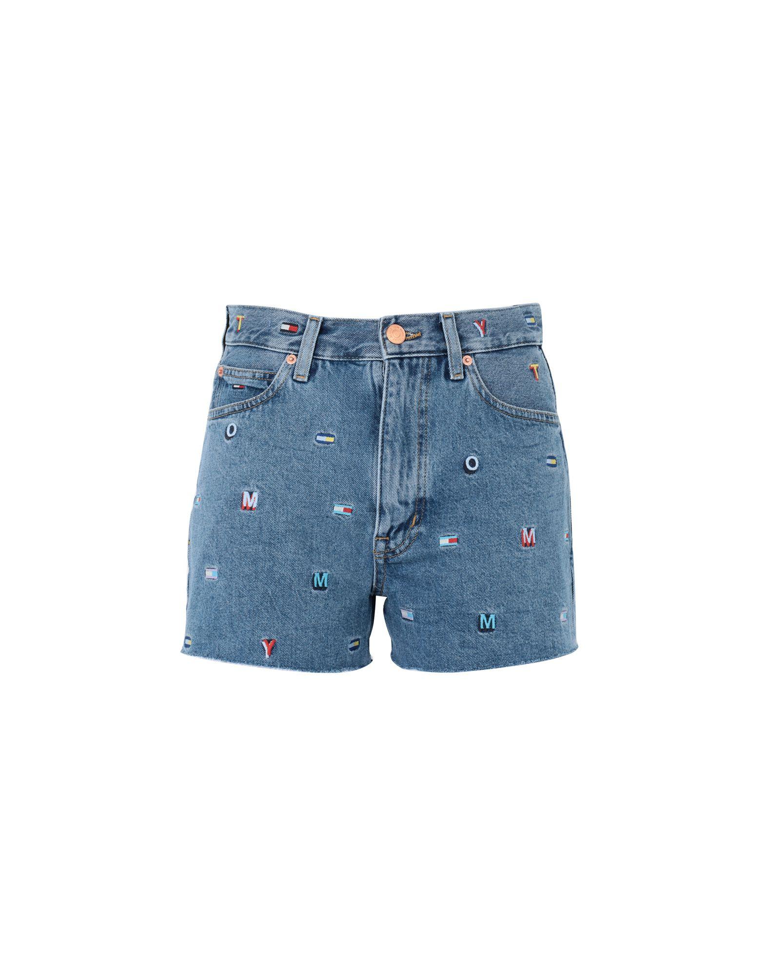 TOMMY JEANS Джинсовые шорты шорты джинсовые tommy jeans tommy jeans to052ewdqpl4