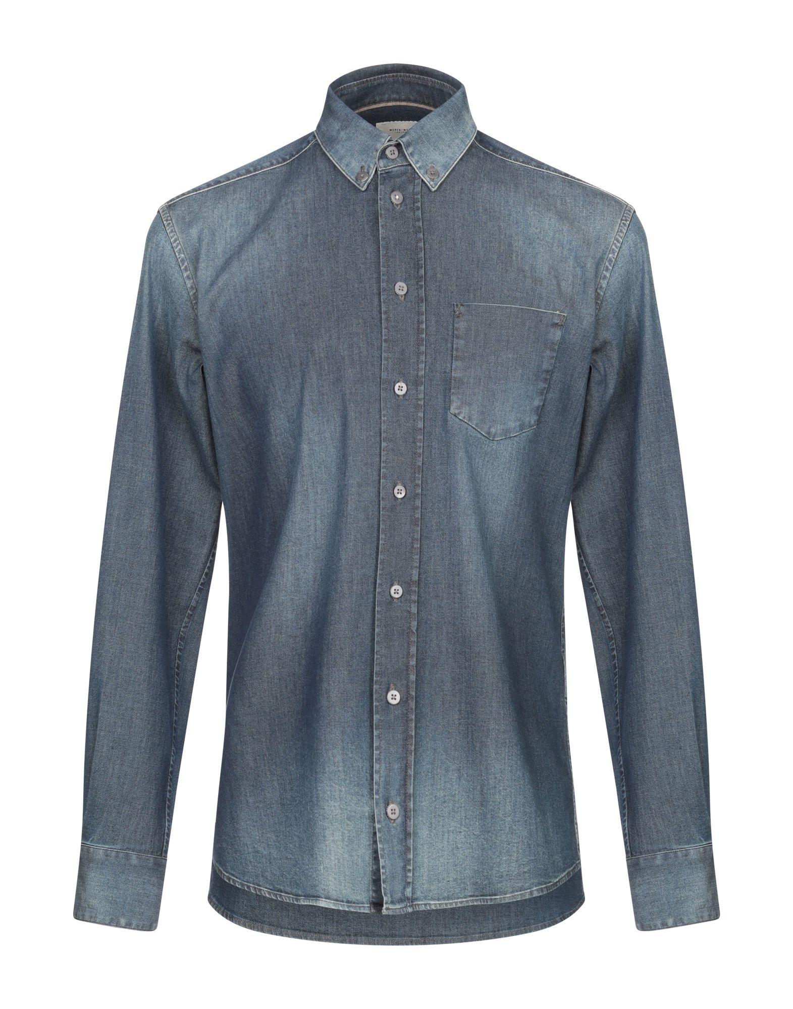WEBER+WEBER SARTORIA Джинсовая рубашка