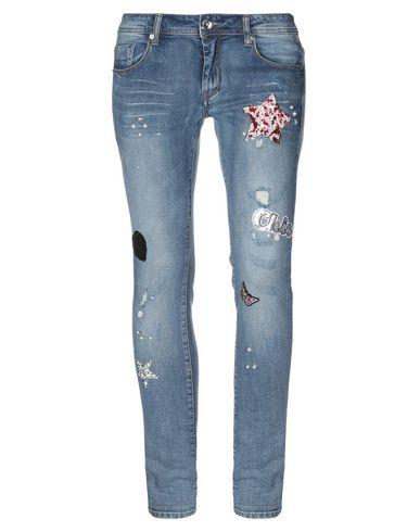 Купить Джинсовые брюки от GAUDÌ синего цвета