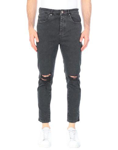 Фото - Джинсовые брюки от BL.11  BLOCK ELEVEN черного цвета