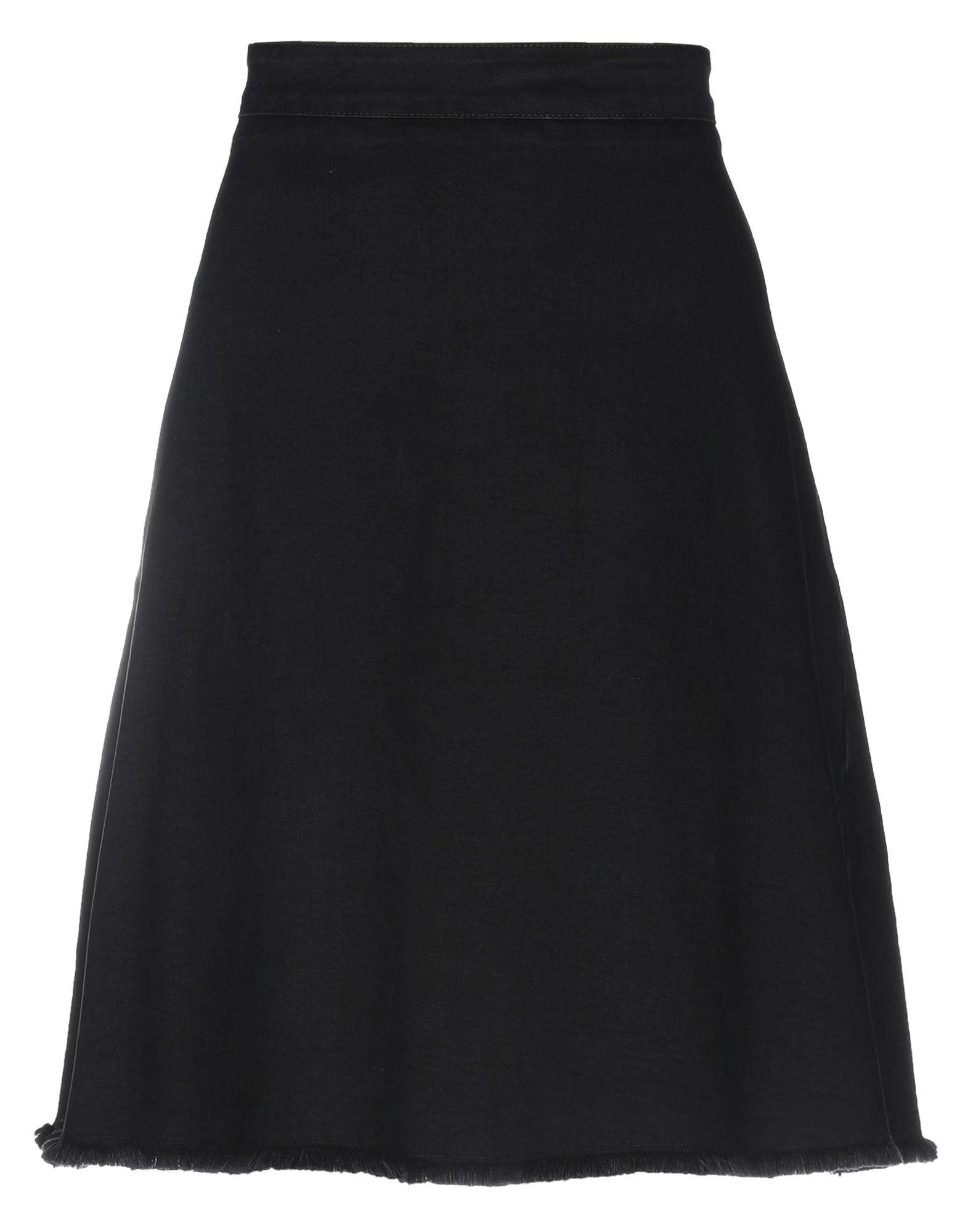 LIU •JO Джинсовая юбка юбка джинсовая с нагрудником и лямками barkito деним голубой