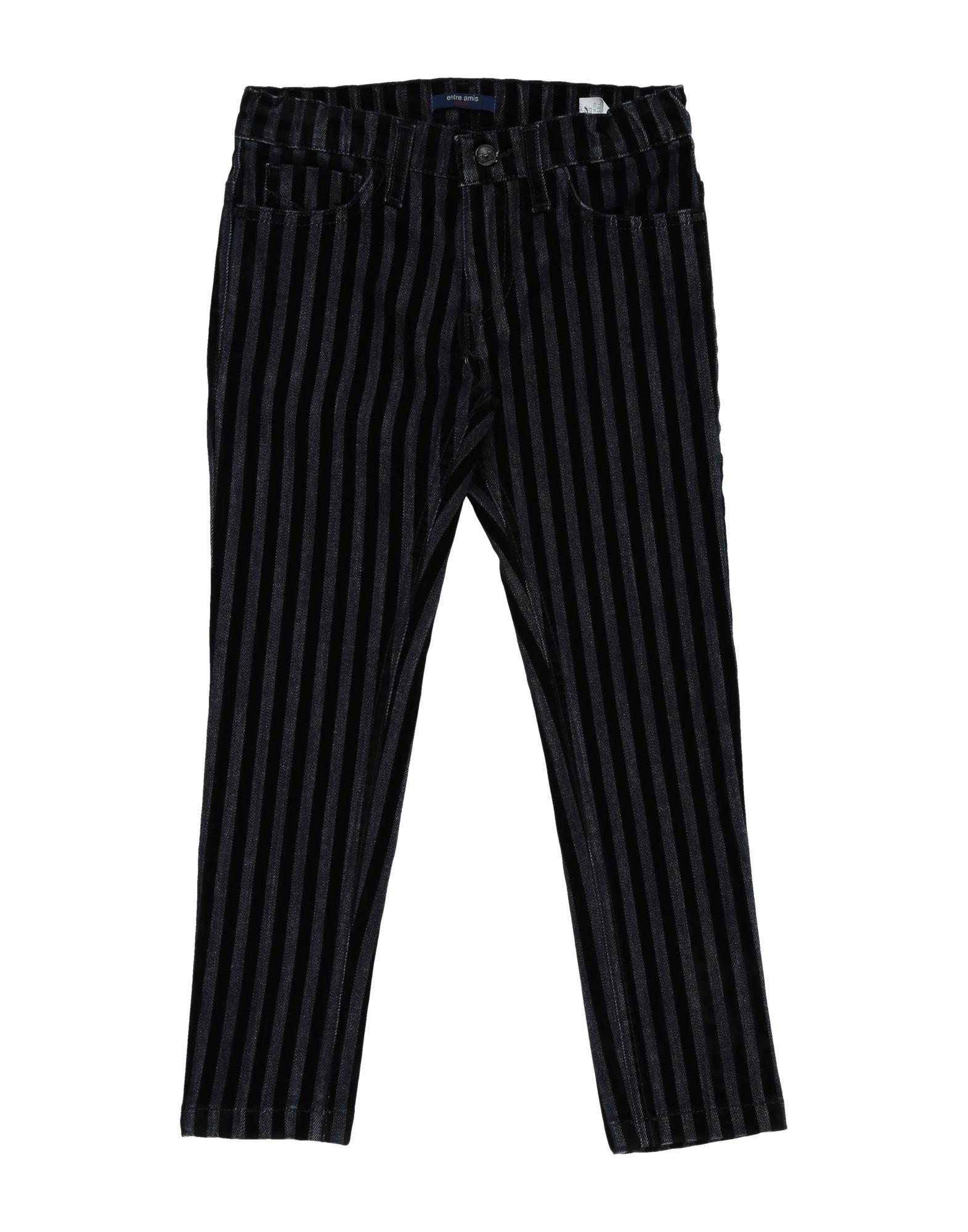 Entre Amis Garçon Kids' Jeans In Black
