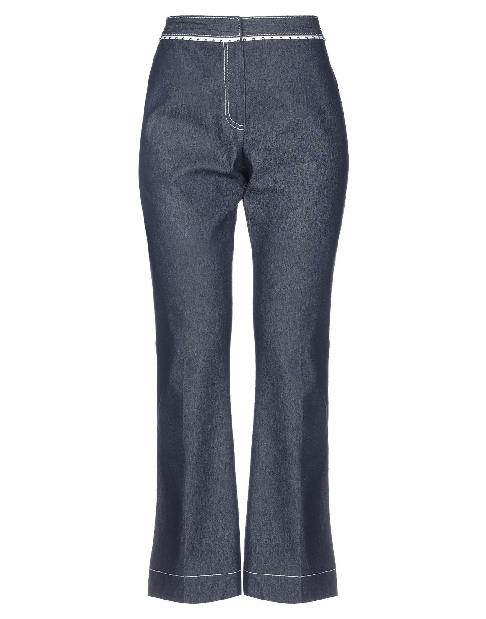 FONTANA COUTURE Джинсовые брюки недорго, оригинальная цена