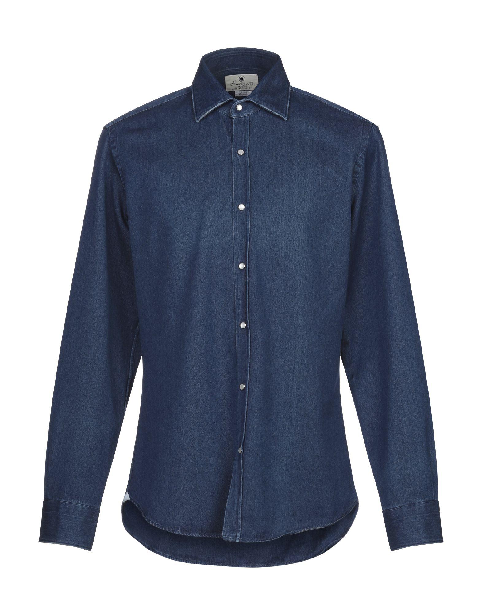 GIANNETTO | GIANNETTO Denim Shirts 42743575 | Goxip