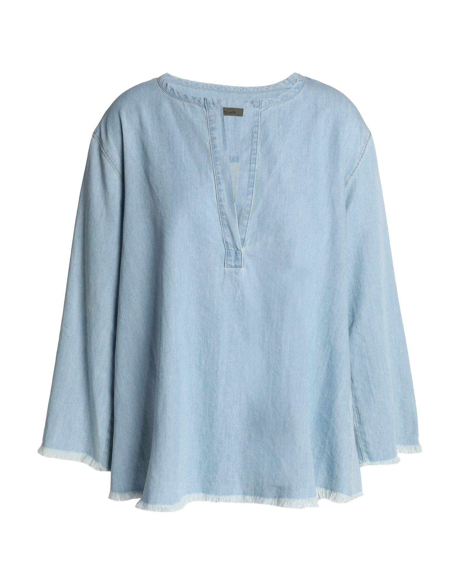ENZA COSTA Джинсовая рубашка enza costa водолазки