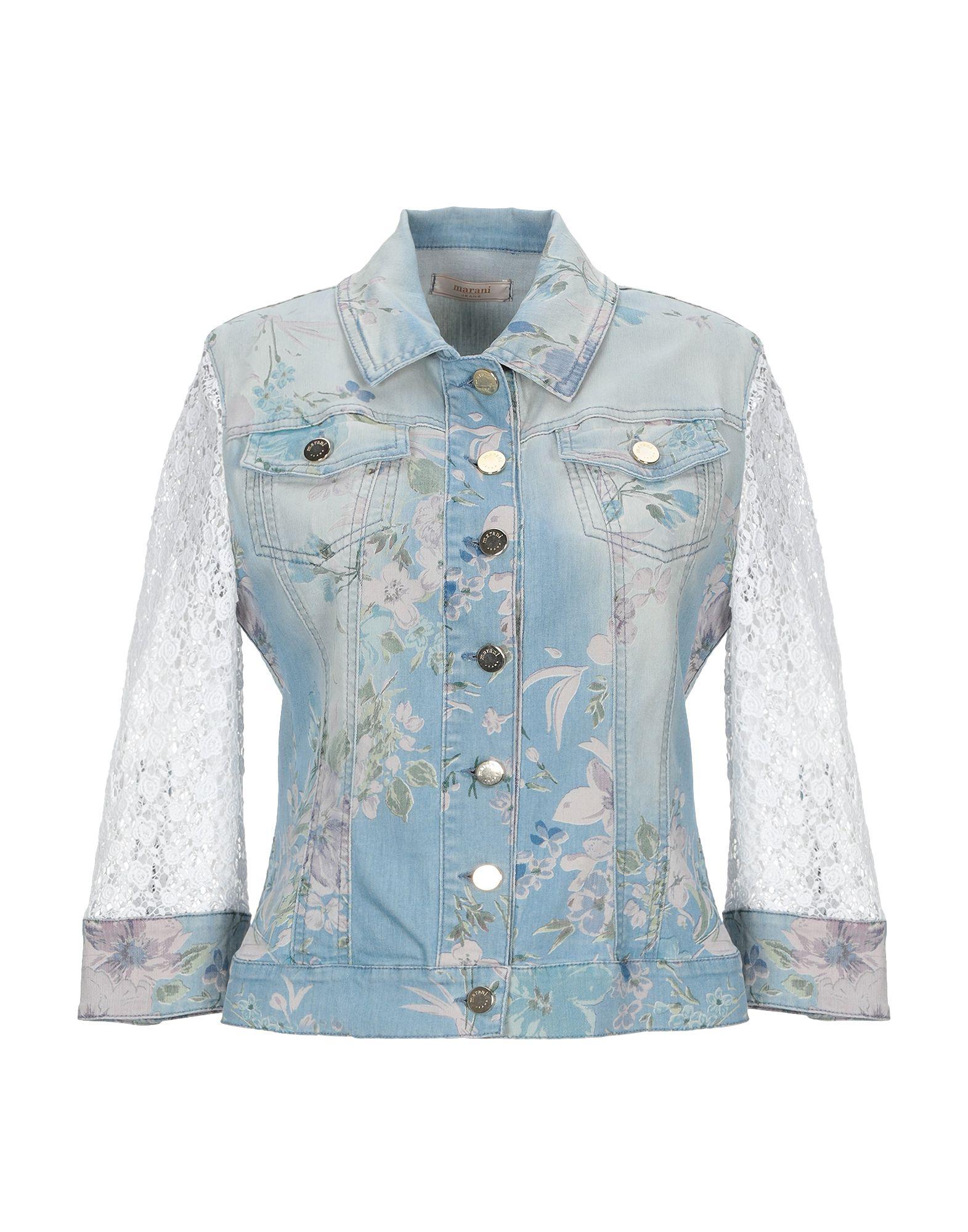 MARANI JEANS Джинсовая верхняя одежда garcia jeans джинсовая верхняя одежда
