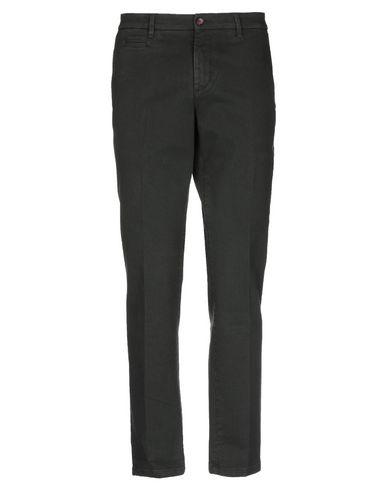 Фото - Джинсовые брюки от C+ PLUS темно-зеленого цвета