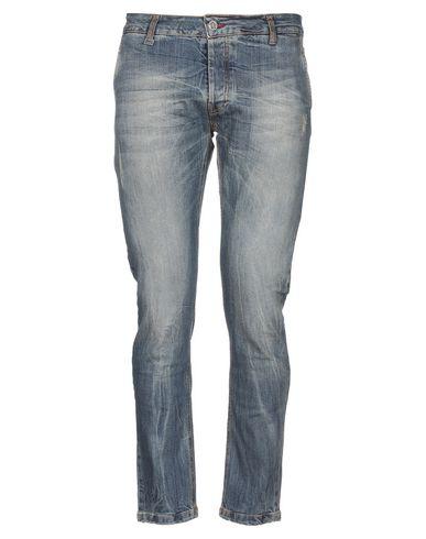 Купить Джинсовые брюки от FIFTIETH синего цвета