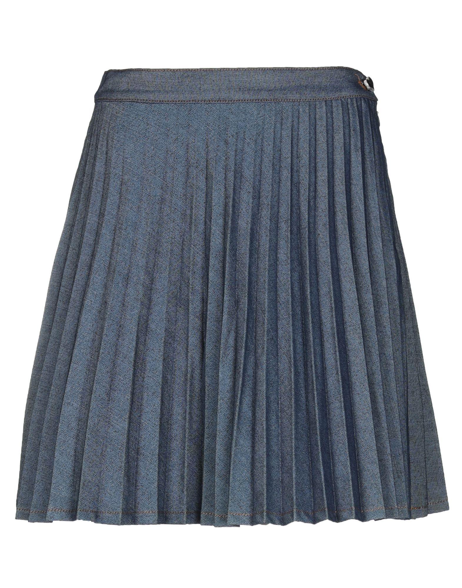 MY TWIN TWINSET Джинсовая юбка my twin twinset юбка до колена