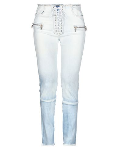 Фото - Джинсовые брюки от BEN TAVERNITI™ UNRAVEL PROJECT синего цвета