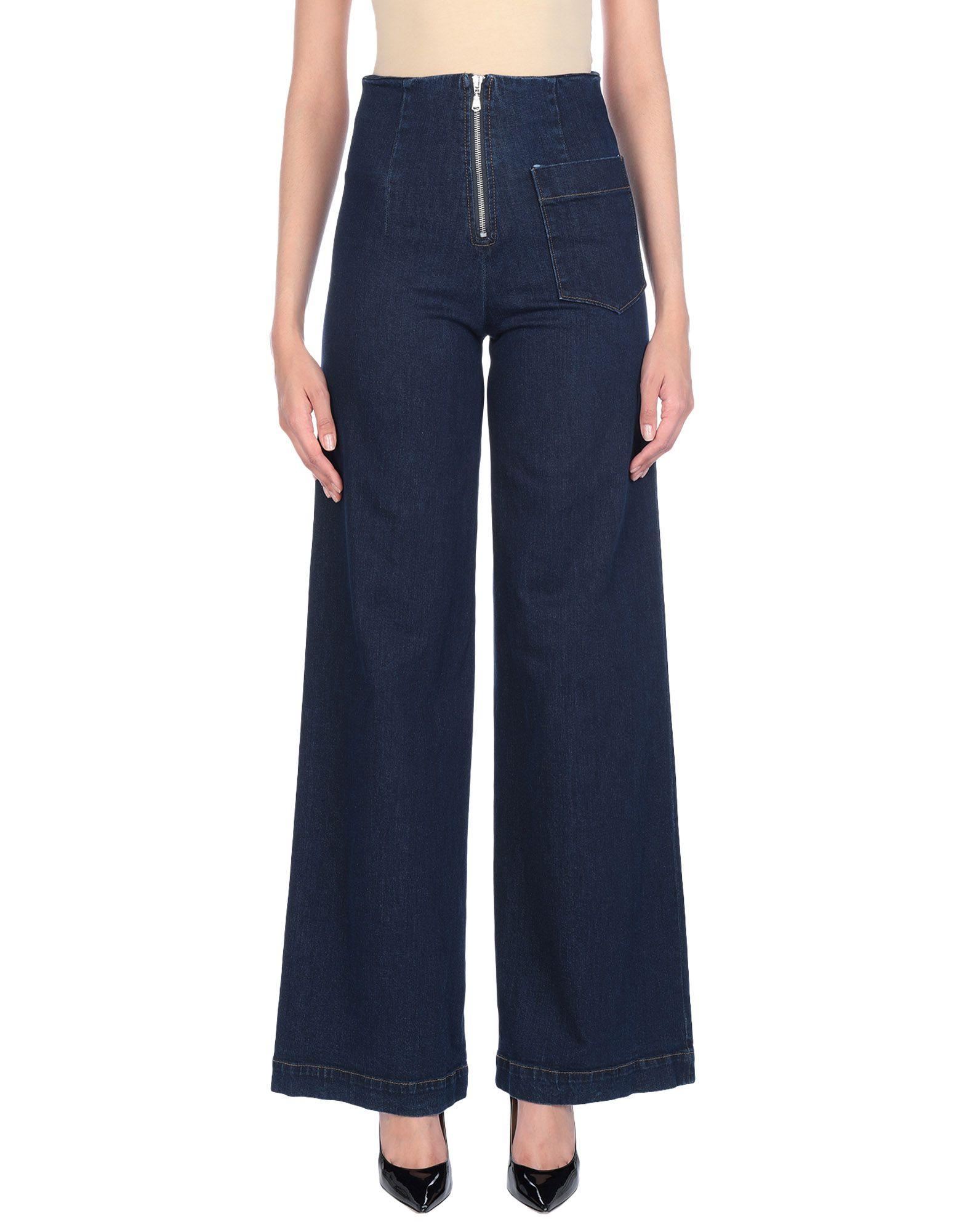 VIRNA DRÒ® Джинсовые брюки недорго, оригинальная цена