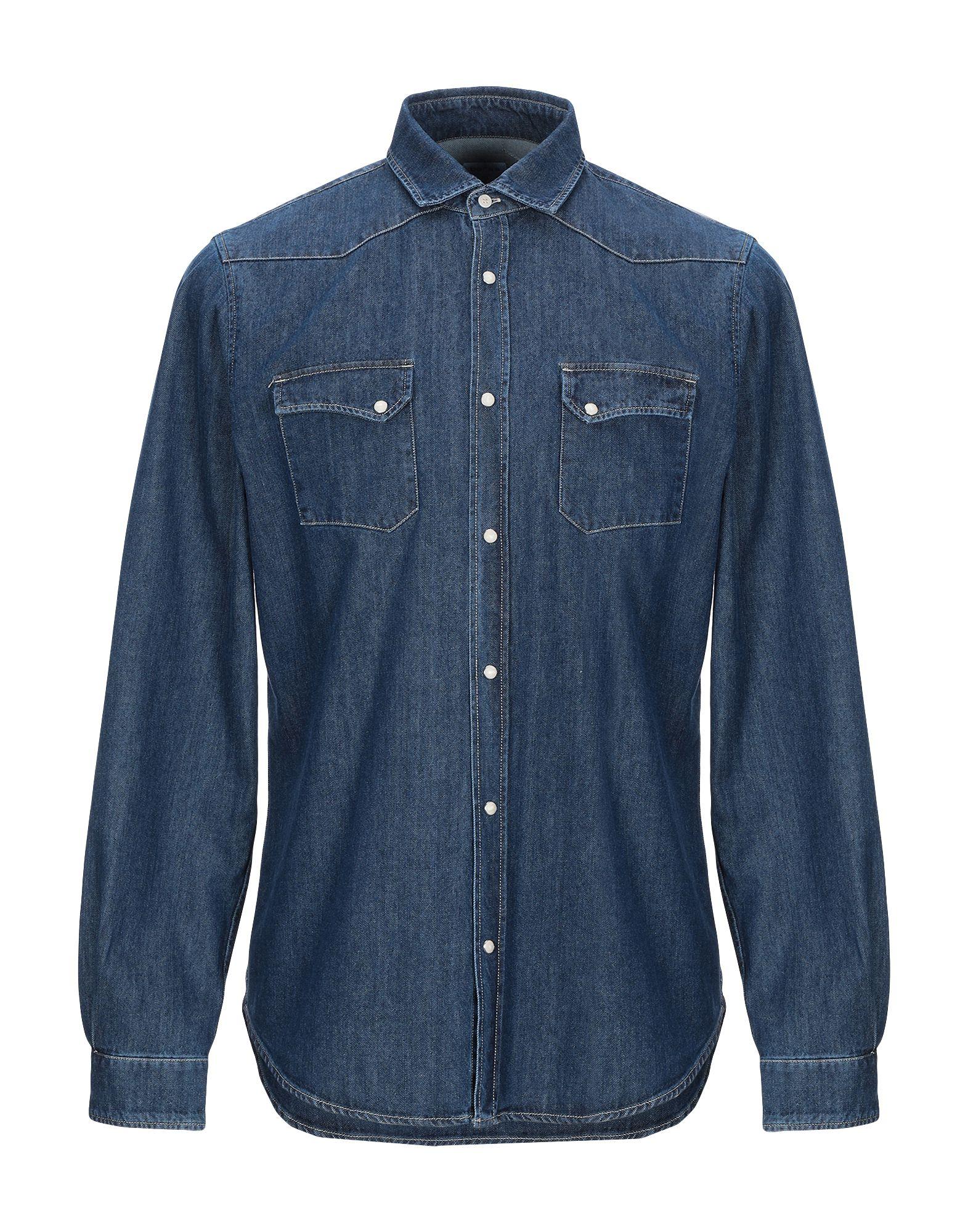 BORSA Джинсовая рубашка цена