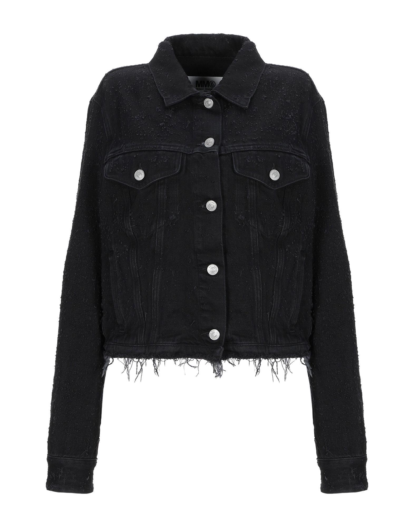 MM6 MAISON MARGIELA Джинсовая верхняя одежда mm6 maison margiela джинсовая рубашка
