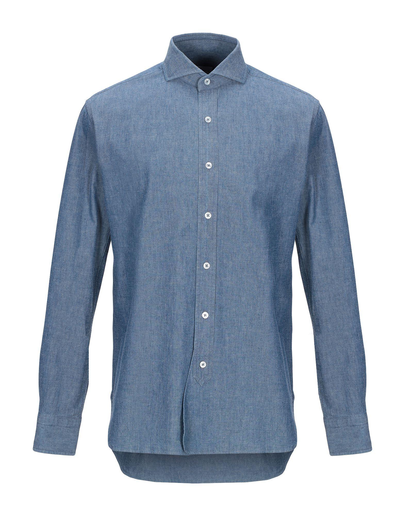DOPPIAA Джинсовая рубашка цена