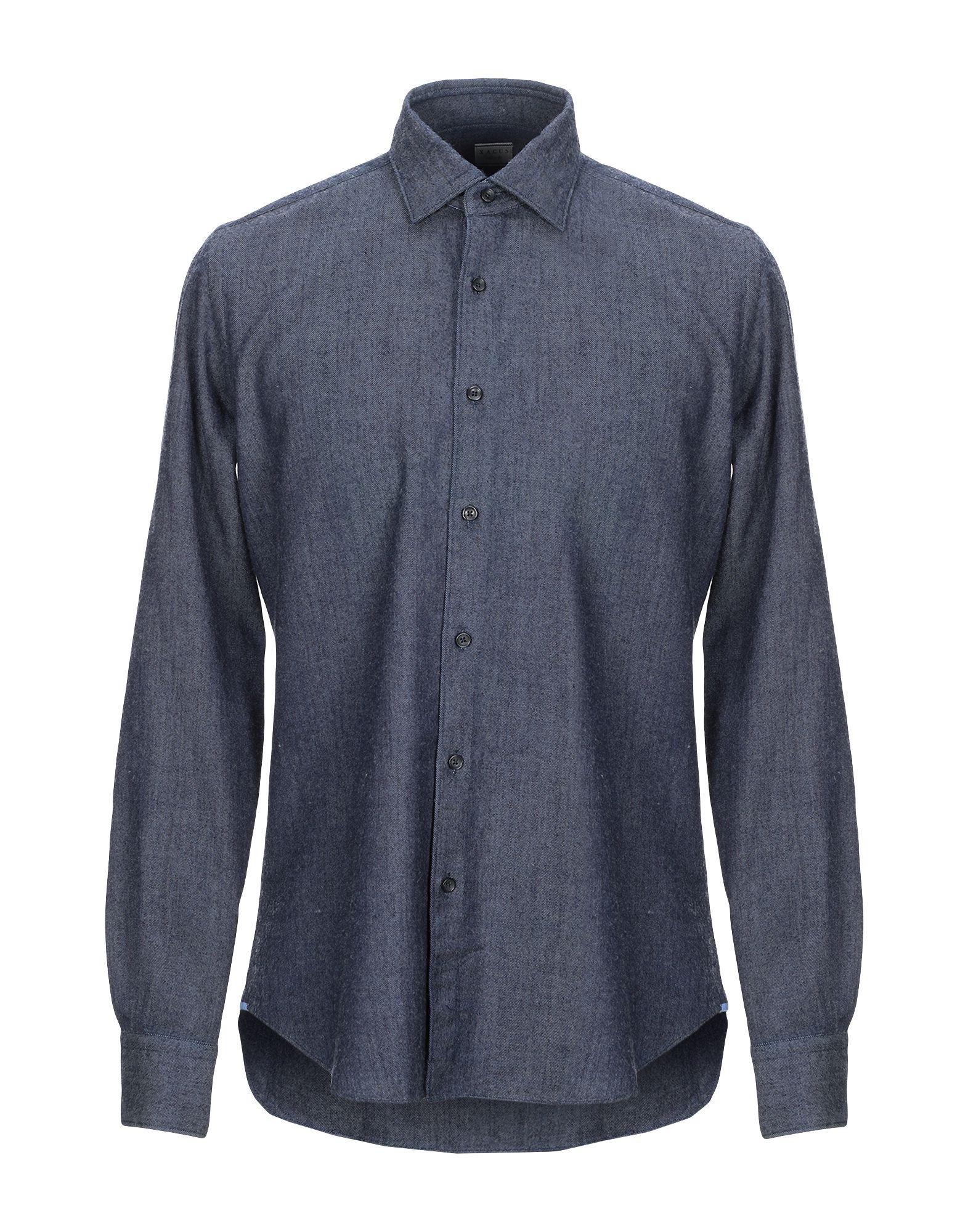 XACUS Джинсовая рубашка цена