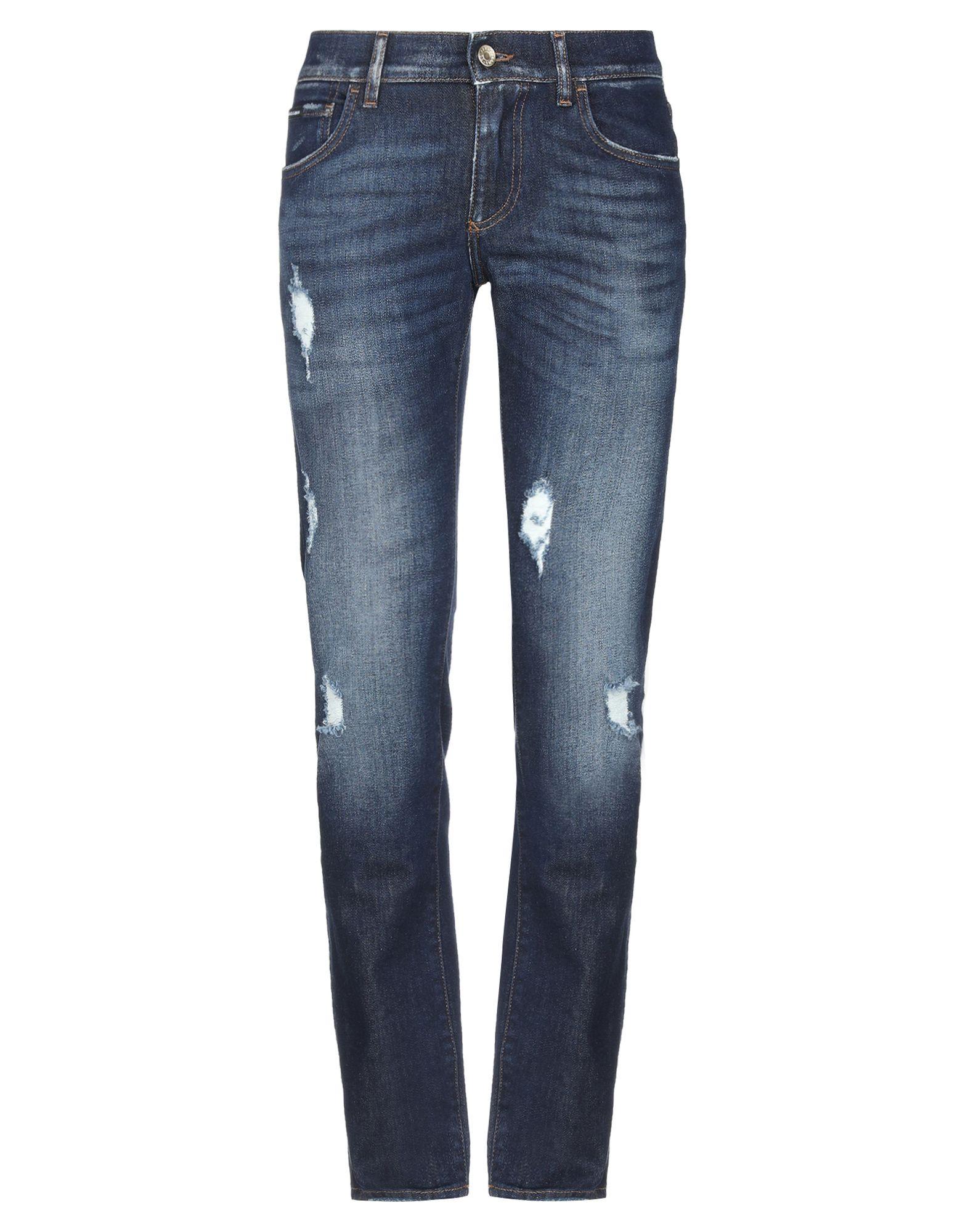 DOLCE & GABBANA Denim pants - Item 42747602