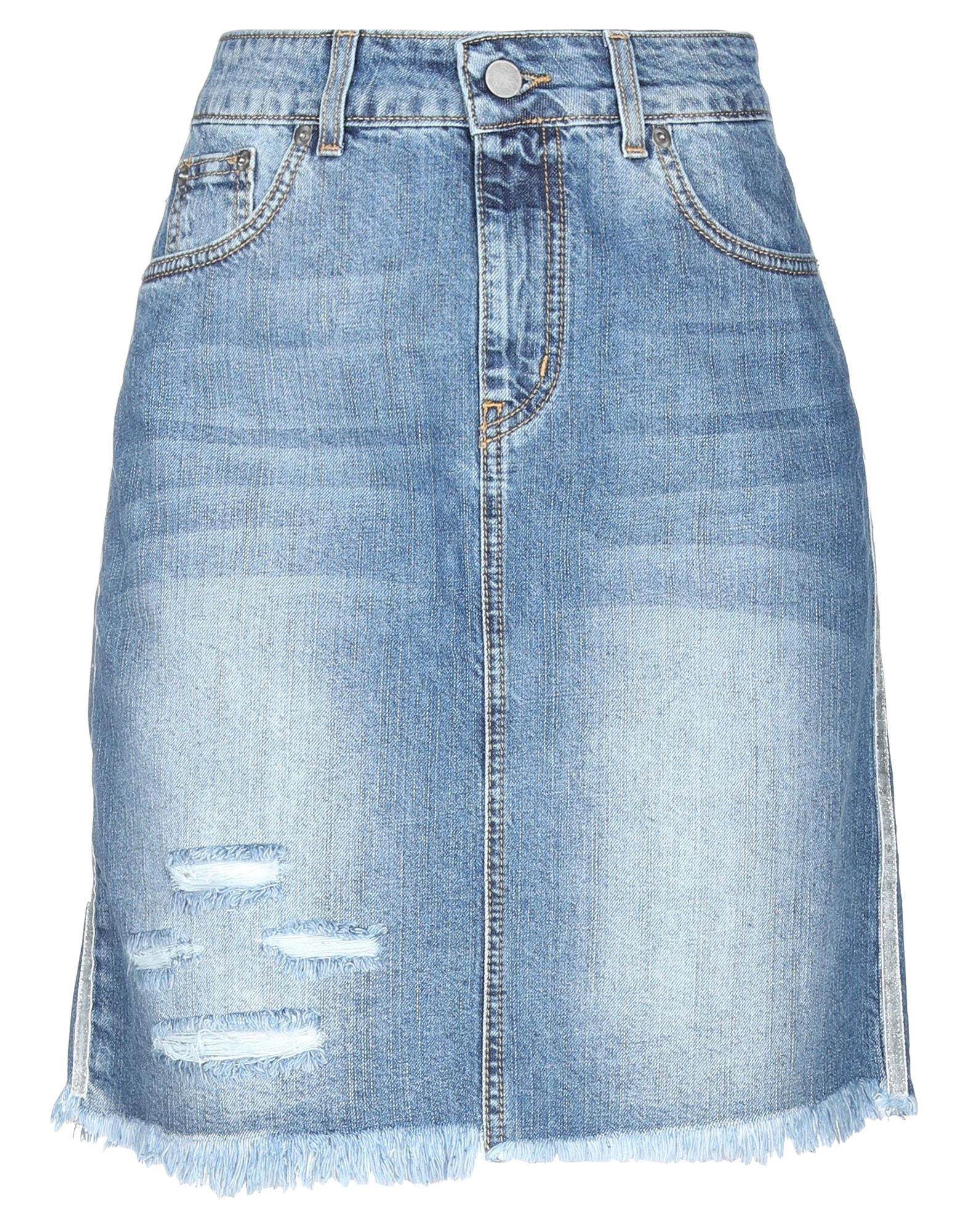 LE VOLIÈRE Джинсовая юбка le volière джинсовая рубашка